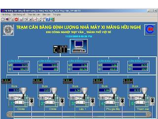 Phần mềm quản lý trạm cân đóng bao chinh hãng chất lượng