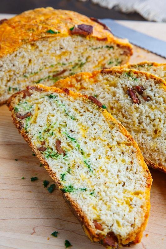 Bacon and Cheddar Soda Bread