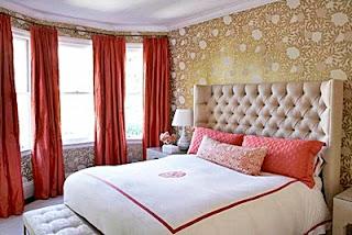 Kumpulan Desain Contoh Gambar Wallpaper Dinding Kamar Tidur Minimalis