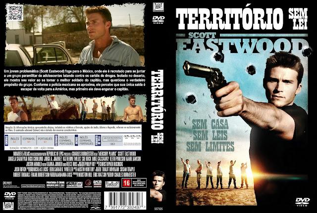 Capa DVD Território Sem Lei [Exclusiva]