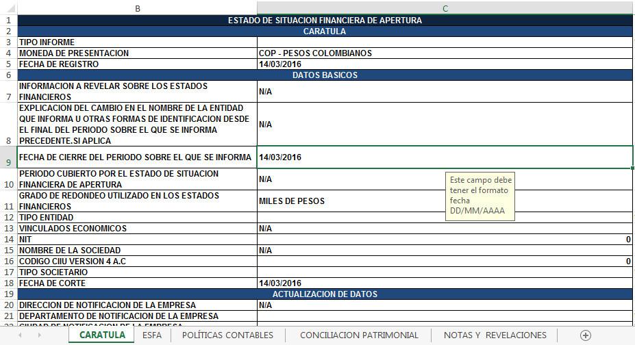 Descargar GRATIS Plantilla Excel Esfa Grupo 2 de la Super transporte ...