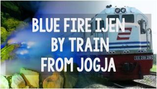 blue fire by train