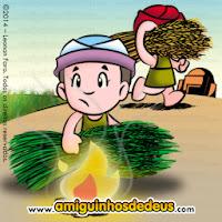 Resultado de imagem para desenhos sobre parabola do joio e do trigo