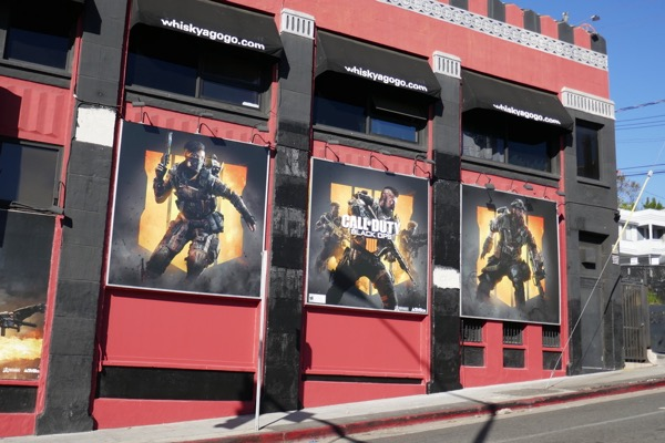 Call of Duty Black Ops 4 billboards