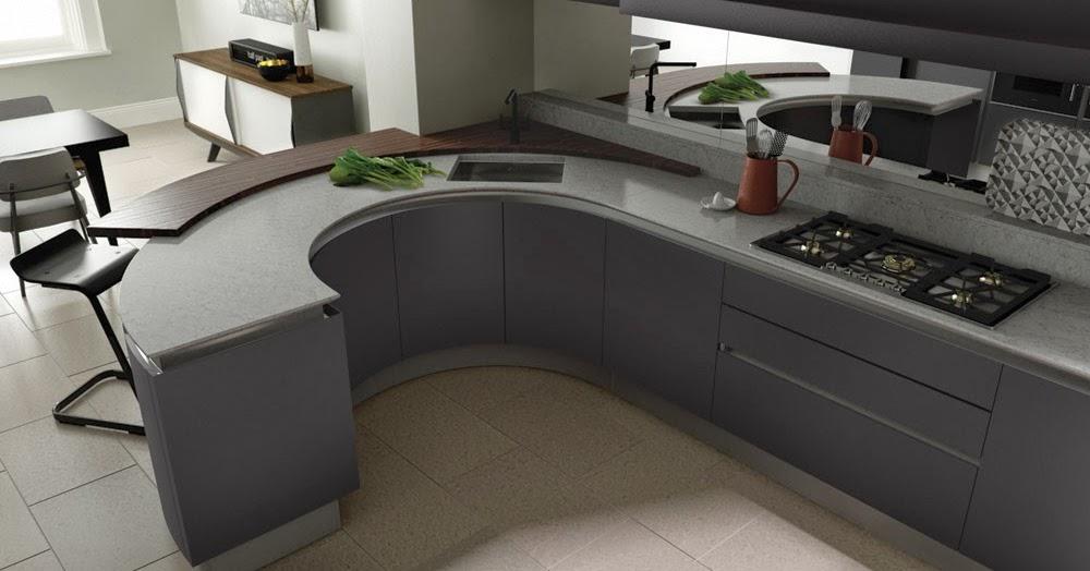 Materiales para cocinas ii lacados los m s vers tiles for Ver barras para cocina