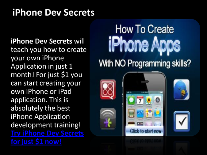 Create Iphone Apps And Make Huge Money