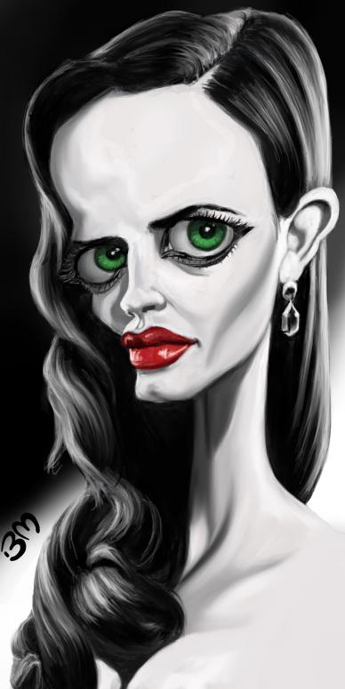 """""""Eva Green"""" por Bruno Munier"""