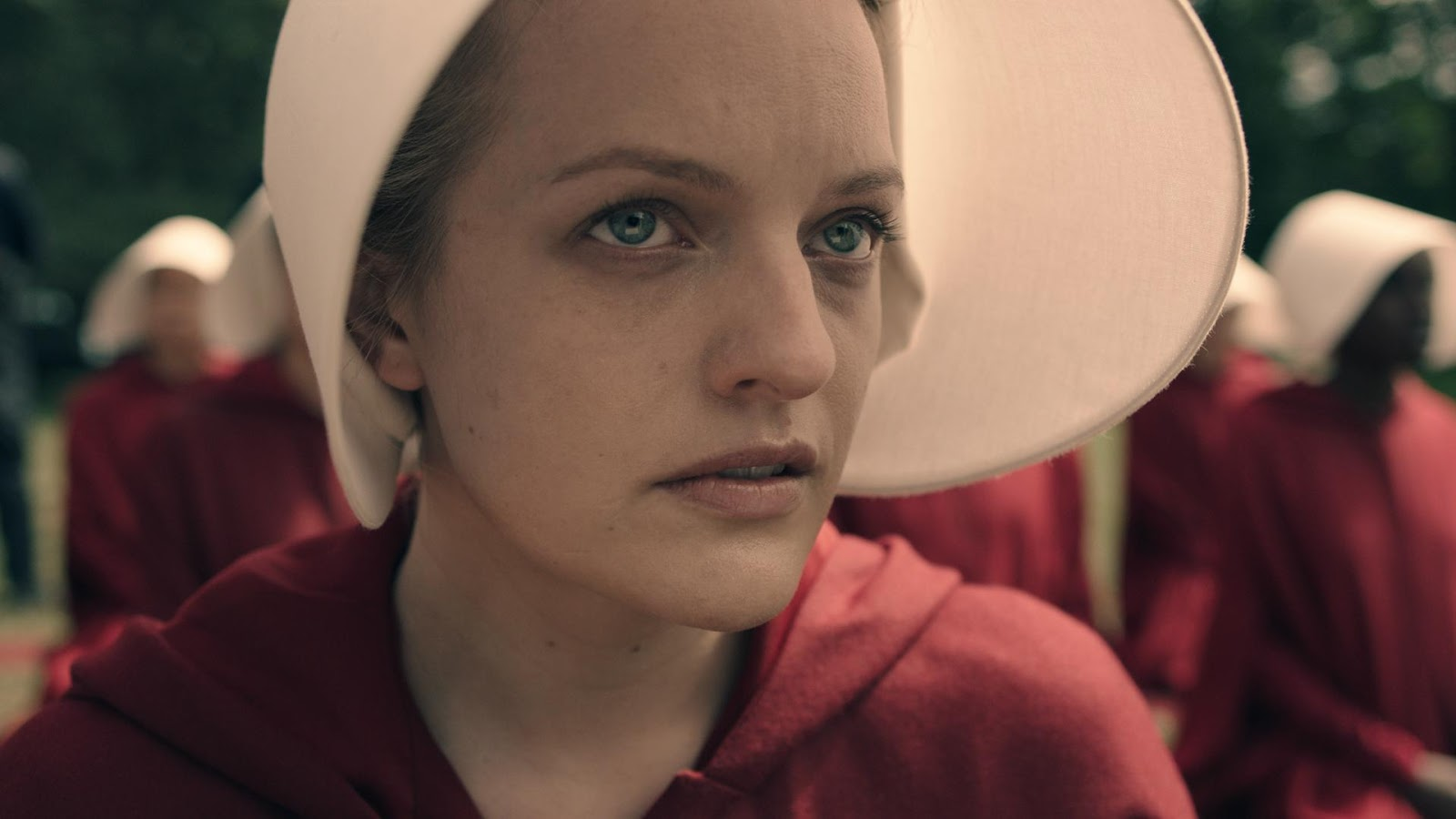 Elisabeth Moss es Defred, la protagonista de 'The Handmaid's Tale'