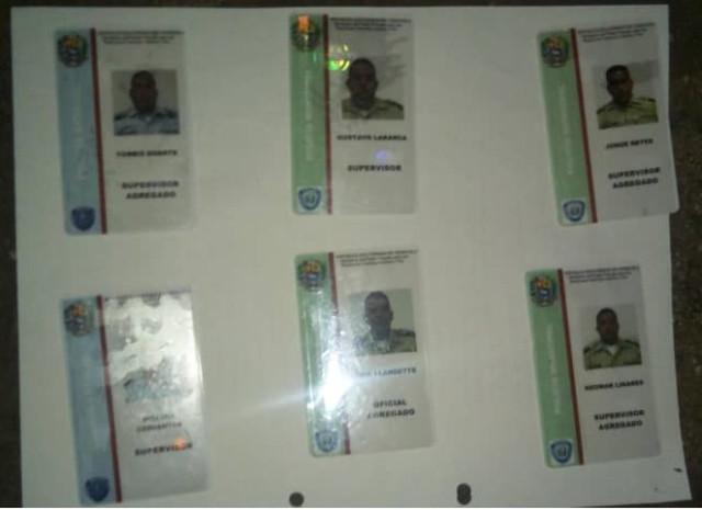 9 funcionarios de la Policía del Zulia capturados con 90 panelas de droga