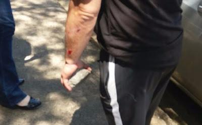 Professor é agredido e tem carro depredado por alunos em São Carlos-SP