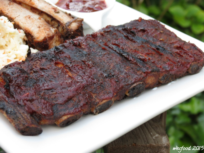 wesfood smoky spare ribs ohne smoker. Black Bedroom Furniture Sets. Home Design Ideas