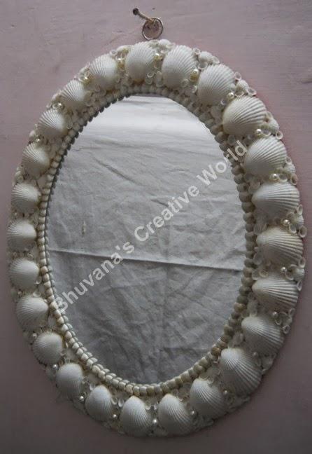 Bhuvana S Creative World Craft Using Sea Shells