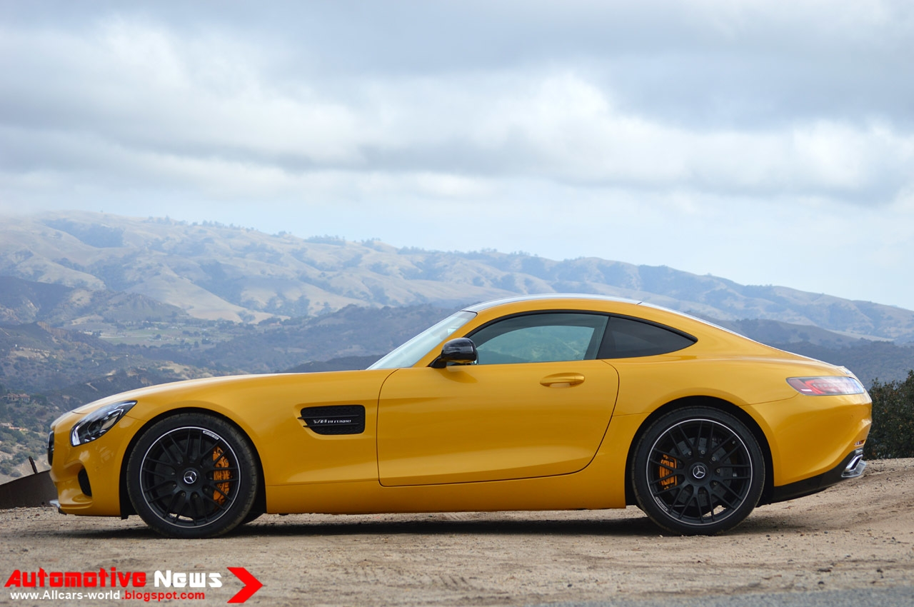 Mercedes Benz Sls Amg Review >> Automotive News: 2016 Mercedes Benz AMG GT - Review