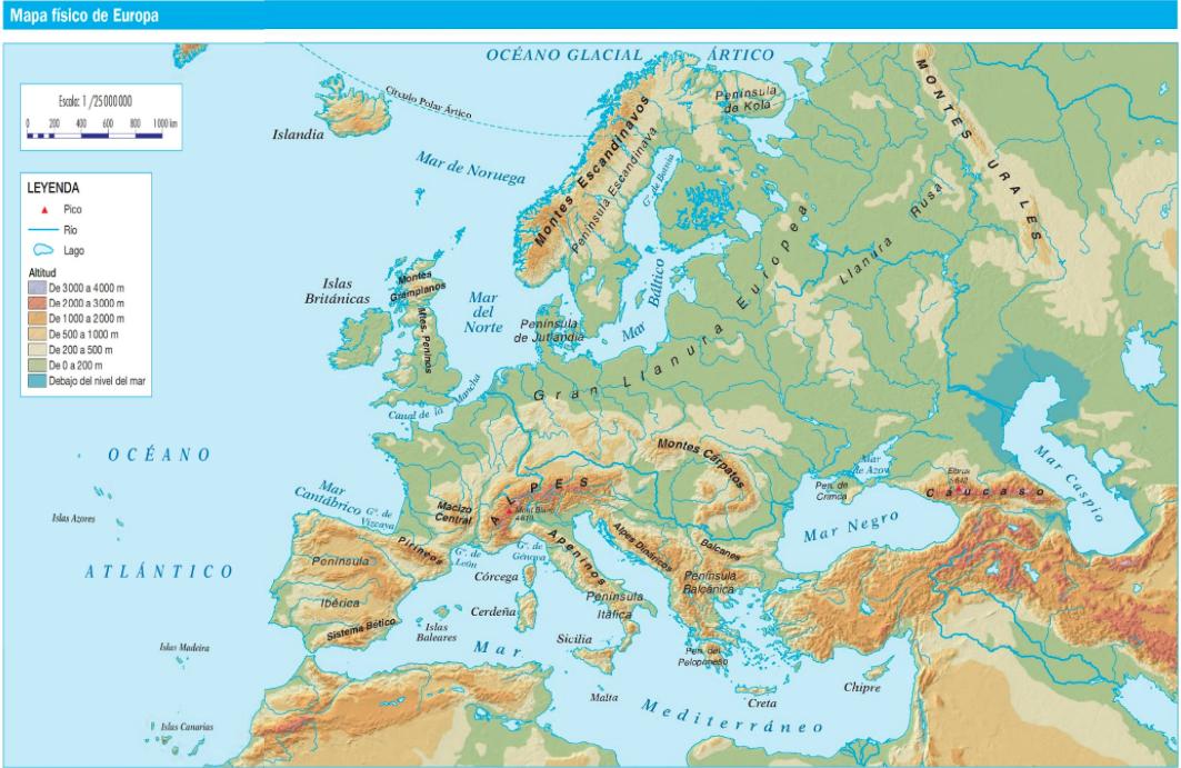 LAS CLASES DE LAS SEOS MAR Y ALBA EUROPA FSICA