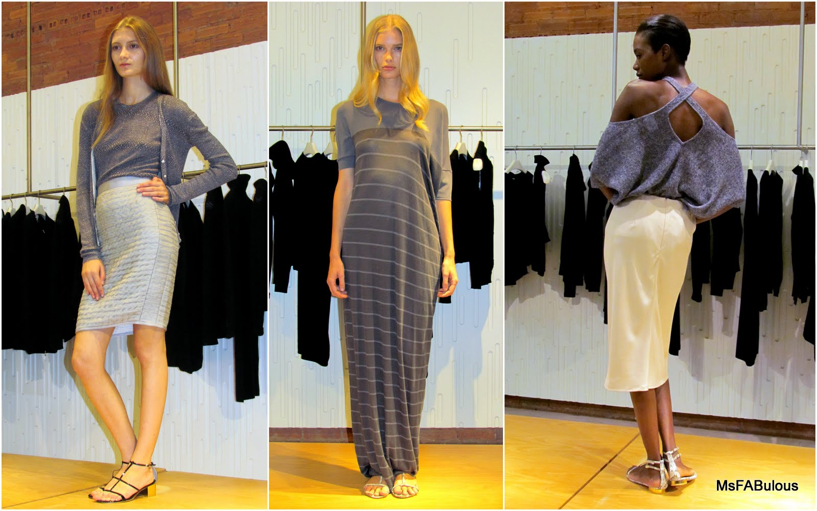 MS. FABULOUS  NY FASHION WEEK  TSE Cashmere Spring 2012 fashion ... cae1715f8