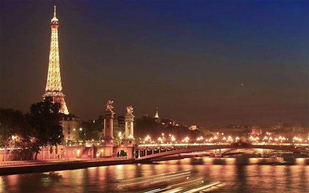 Paris, France... the city of light