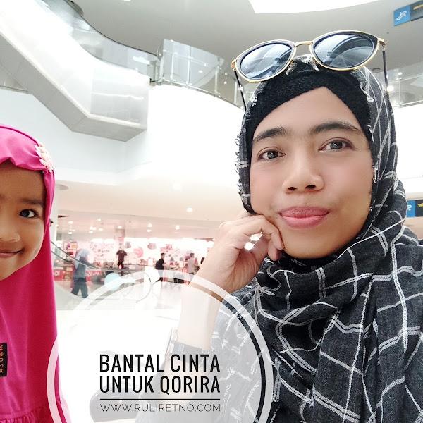 Hadiah Penuh Doa Untuk Qorira, Bantal Custom dengan Live Editor