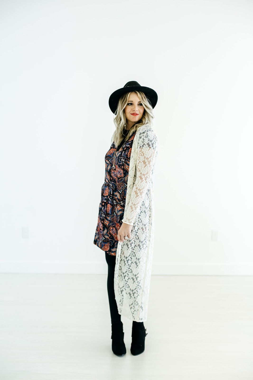 Utah Fashion Blogger, thredUP, Lace Cardigan, Modest Style