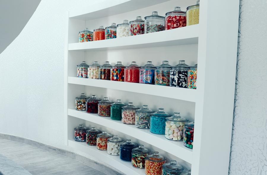 Dubai candy corner