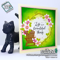 Stampin' Up! Colourful Seasons Bundle SU Card Idea for Creative Circle Blog Hop order craft supplies from Mitosu Crafts UK Online Shop