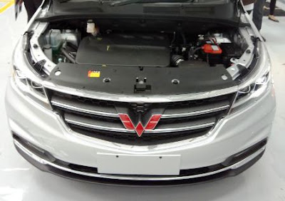 Mesin Mobil Wuling Cortez 2018