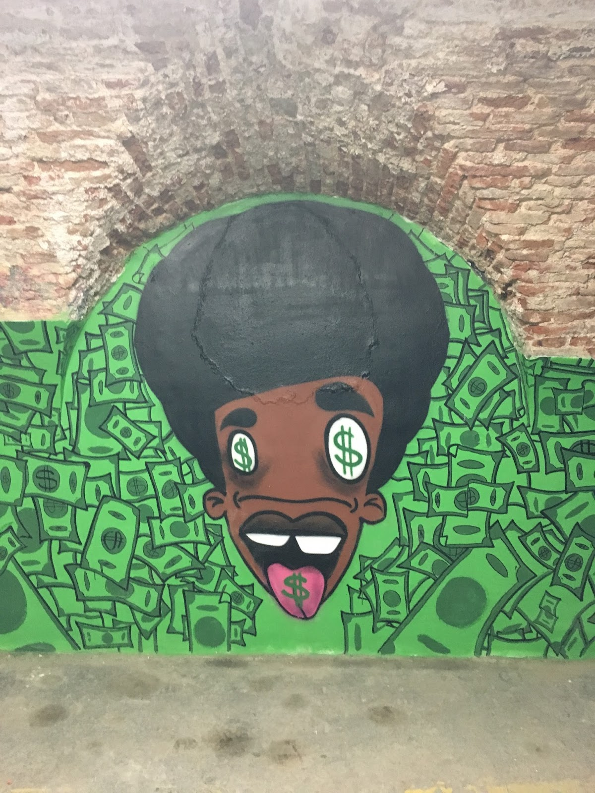 csa la tabacalera, Madrid, Spain, Španělsko