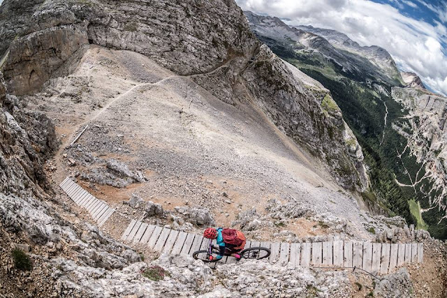 Vallon Bianco Mountainbike MTB Trail Abfahrt Downhill