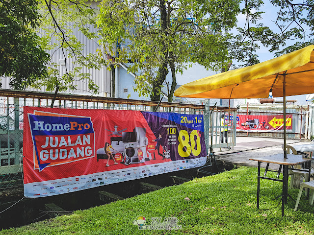 HOMEPRO WAREHOUSE SALE HomePro Jualan Gudang 2018 in Puchong