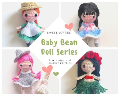 Curvy Female Doll Base No Sew - Amigurumi Crochet Pattern Girl ... | 320x400