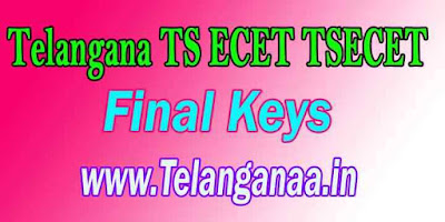 TSECET 2019 Final Keys