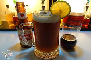 boca negra coctel de cerveza