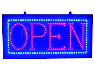 Buy the Affordable LED Horizontal LED Open Sign at AffordableLED.com