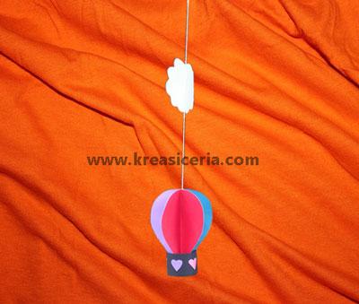 38 Hiasan Dinding Dari Kertas Balon Udara Yang Banyak Di Cari