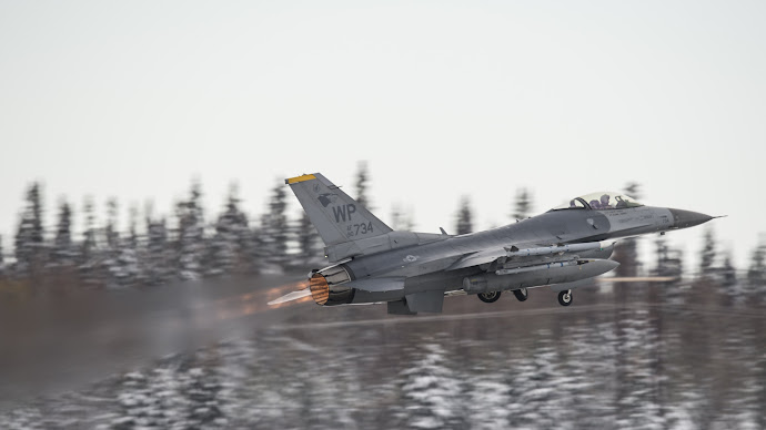 Wallpaper: Aircraft. US Air Force. F-16 Fighter