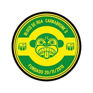 """Logotipo do """"Carnabronk's"""""""