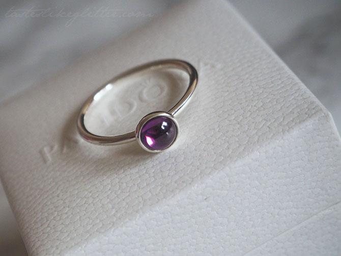 pandora droplet ring september