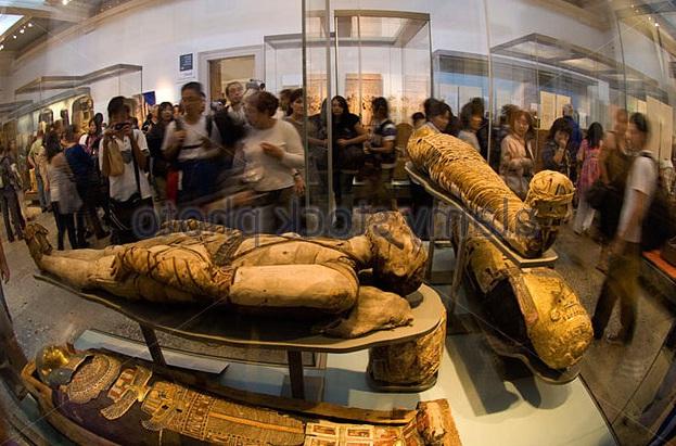 Mumy in British Museum