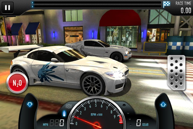 CSR Racingのレーススタート画面