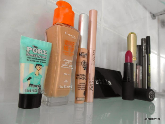 what products I took on holiday
