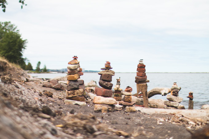 wendy park, cairn, whiskey island, ohio