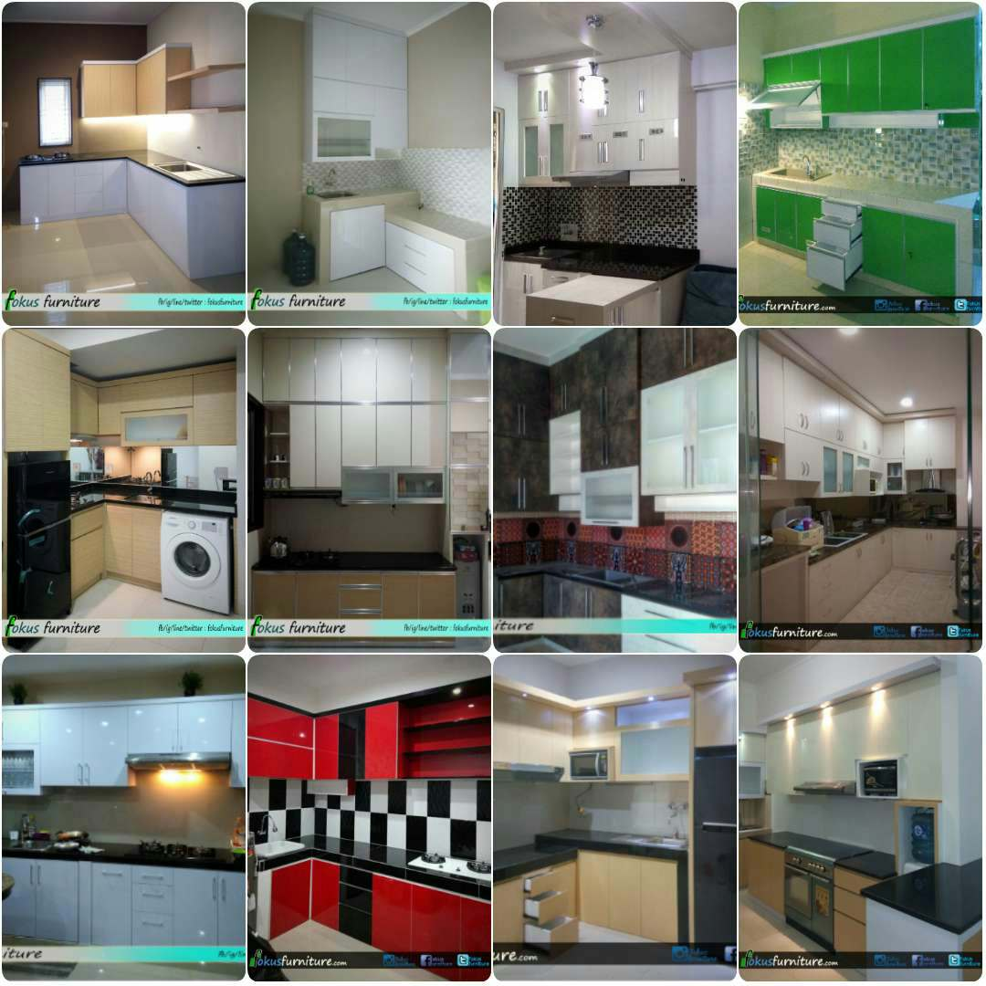 Kitchen Set Hpl Putih: Furniture,Kitchen Set Minimalis,lemari Pakaian,Jakarta