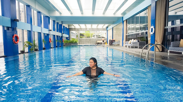 Staycation at Makati Diamond Residences Booked Through the Traveloka App