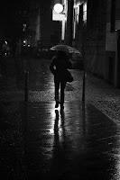 Regen macht einsam