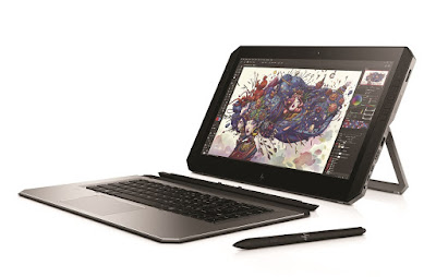 HP launches ZBook x2 world's first detachable PC workstation with 14-inch 4K display