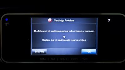 Sekarang Printer HP Harus Menggunakan Cartridge Original