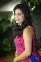 Srushti in beautiful Pink Sleeveless Dress Cute Actress Dimples ~  Exclusive 019.JPG