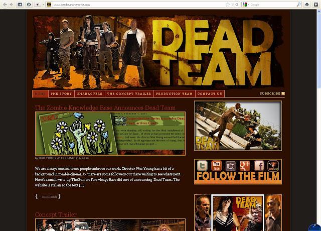 Febbraio 2011 - Dead Team the Movie