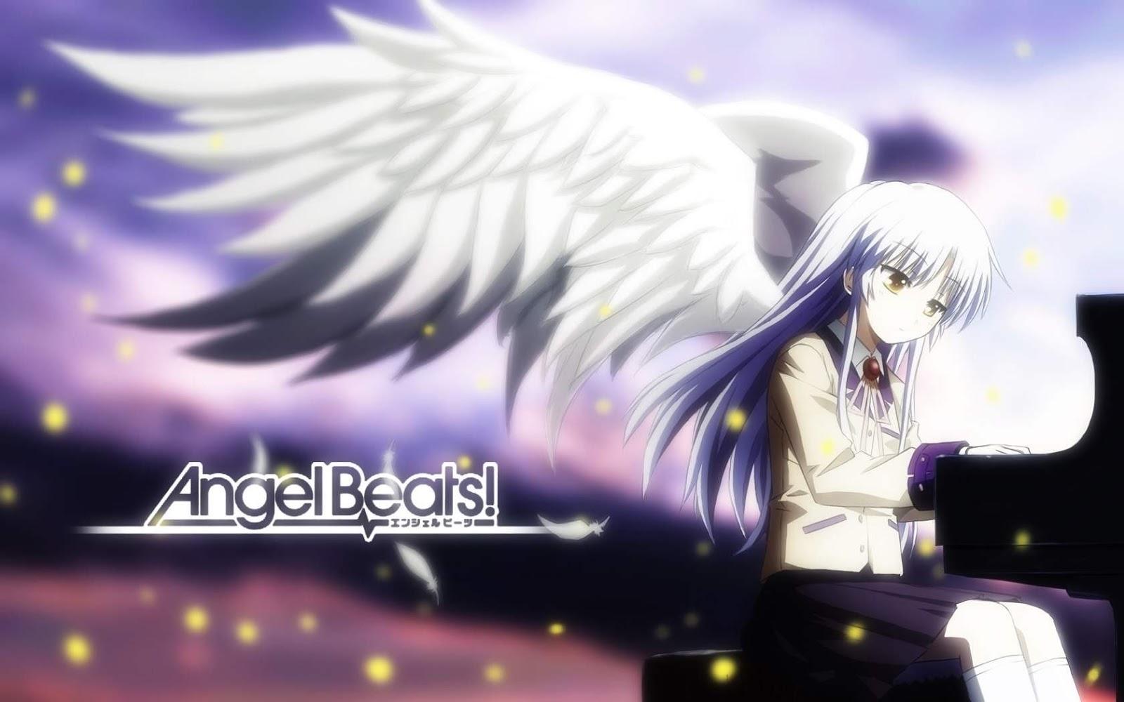 Siapa sih yg belum nonton angel beats ini salah satu alasan kenapa daima suka anime loh d dengan genre action comedy drama supernatural nya angel beats