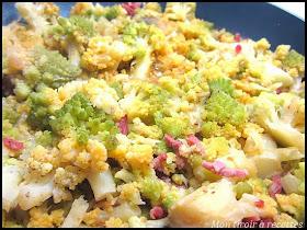 Mon tiroir recettes blog de cuisine recettes pr f r es de d cembre - Comment cuisiner le chou romanesco ...