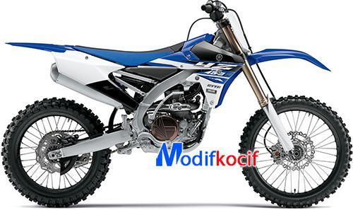 Motor Trail Yamaha YZ450F